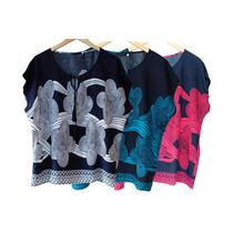 Roupas Femininas Kit Blusas Plus Size Atacado Revenda 10 Pça
