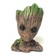 Porta Objetos Estatua Boneco Baby Groot Guardioes Da Galaxia