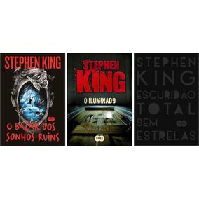 Kit Livros Stephen King - 3 Livros - Novos E Lacrados