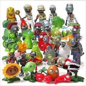 Kit 40 Miniaturas Boneco Plants Vs Zombies Plantas Games