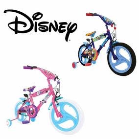 Bicicleta Infantil Disney Marvel Barbie Nene Nena Rodado 16