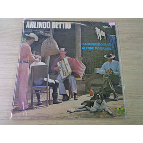 Lp - Arlindo Bettio O Sanfoneiro Mais Alegre Vol 2