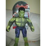 Muñeco Soft Increible Hulk Lic Marvel Newtoys