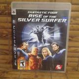 Jogo Ps3 - Fantastic Four Rise Silver Surfer