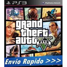 Gta V 5 Ps3 Grand Theft Auto V Digital Ps3 Psn Envio Agora
