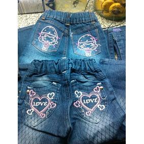 Lote De Jeans Para Bebas, Con Elástico En Cintura
