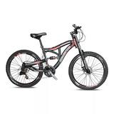 Bicicleta Benotto Magnitude Doble Suspensión Shimano Freno