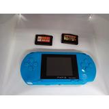 Consola Videojuegos Portatil +200 Juegos 8 Bits Sega Capcom