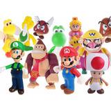 Bonecos Super Mario Super Mario E Turma Yoshi Luigi Cada Un