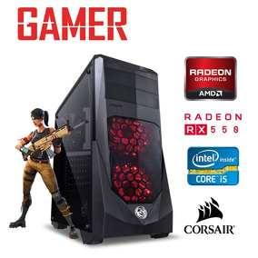 Pc Gamer Intel Corei5 3ger 8gb Ram Rx 550 4gb 128 Windows 10