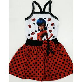 Vestido Infantil Miraculous Ladybug - Roupa/fantasia