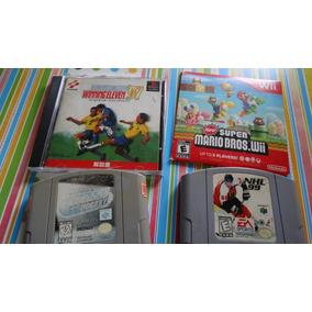 Lote De Jogos! Nintendo 64 Playstation Wii Mario
