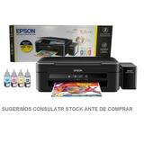 Impresora Epson Multifunción L380 Con Sistema Continuo +