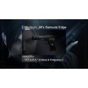 Resident Evil Cosplay Pistola Utileria Balin Cargador Gris