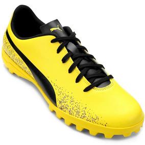 391ab6568068d Chuteira Society - Chuteiras Puma de Society para Adultos Amarelo no ...