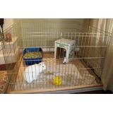 Jaula Para Conejos Mascotas 50cm De Alto 8 Paneles