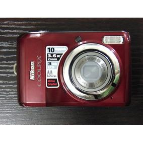 Camara Nikon Coolpix 10mp (ojo Con Detalle)