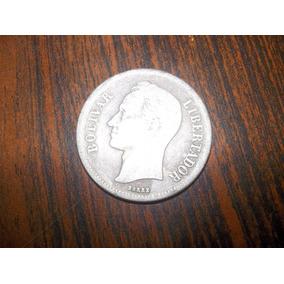 Moneda De 10 Grms De Plata Estados Unidos De Venezuela