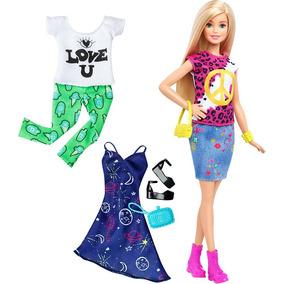 Boneca Barbie Fashionistas Com Acessório Fashions 3