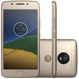 Celular Motorola Moto G5 Xt1676 Dual Chip 16gb 4g - Original
