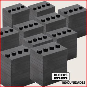 Lote 100x Base Plate Para Minifigure Placa Peças Blocos Lego