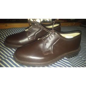 Zapatos Marrones Hombre Zuela Cuero Numero 40 O Tamb Permuto