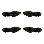 Pisca Seta Mini Dianteiro/traseiro Nxr Bros 2013 Fume Kit Co