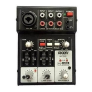 Consola Moon Mc302 Usb Interface 3 Canales Mixer Estudio