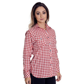 3123f7a7b8 Camisao Feminino Estilo Americano - Camisa Social Manga Longa no ...