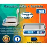 Balanza Electr Kretz Novel 30kg + Bateria + Garantía 1 Año