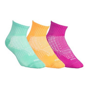 Pack X3 Medias Deportivas Sox Mujer Colores Running Gym