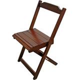 Cadeira Madeira Dobrável Para Mesas 120x70 80x80 70x70 60x60