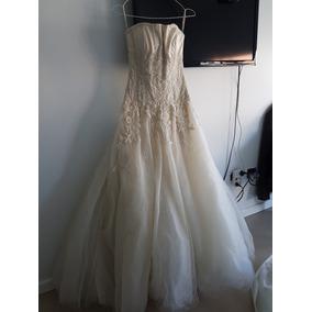 Vestido De Novia Diseño Gabriel Lage Impecable!!!
