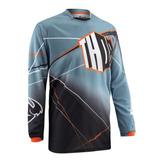 Camisa Thor Phase Prism Steel - Tamanho Gg - Mx Cross Trilha