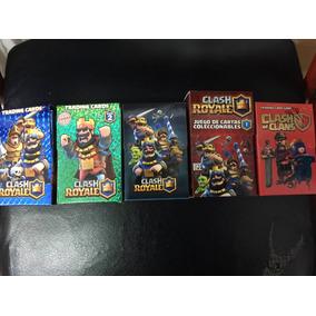 Cartas Clash Royale Coleccion Completa Pack Por 5