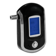 Bafômetro Portátil Digital Etilômetro Medidor Teor Álcool