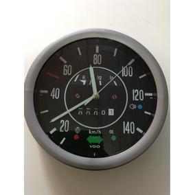 Accesorio Reloj Velocímetro De Pared De Vocho 1974-2003