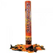 Cañón De 40 Cm. Lanza Papelitos Halloween X 6 Cotillon