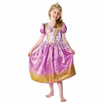 Disfraz Princesa Rapunzel Talle L 7-8 Años Original Disney