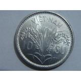 Numave Moneda De Vietnam Del Sur 10 Su 1953 Km 1 Plantas