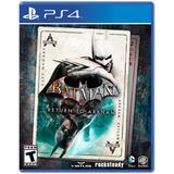 Juego Ps4 Sony Batman Return To Arkham ( Físico)