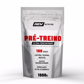 Pré Treino Ultra-concentrado - 1000g - Rev Nutrition - Uva
