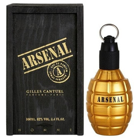 Perfume Arsenal Gold Masculino Edp 100ml / 100% Original.