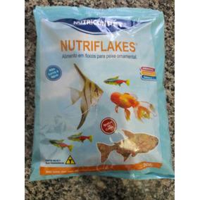 Ração Peixes Ornamentais Flocos Nutriflakes 500g Barato!
