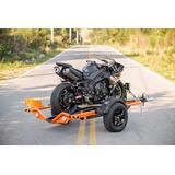 Reboque Para Transporte De Moto Control- Biner - Inmetro