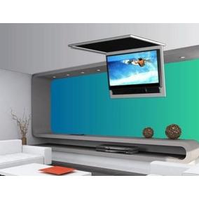 Lift Elevador Flap Tv Teto Glc 290 - 740 Gaia Tv Até 32 Pol