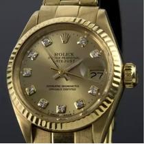 Reloj Rolex Oyster Perpetual Datejust 18k