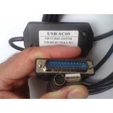 Cabo Programação Clp Plc Mitsubishi Sc-09 Melsec Clps Fx E A
