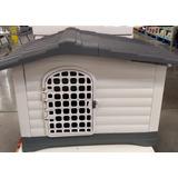 Casa Grande Para Perros 111 X 80 X 83 Cm, Con Puerta