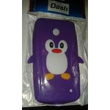 Funda Protector Tpu Nokia N 630 Silicona Pinguinito